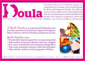 Birth Doula Flyer